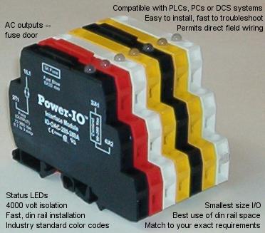 din rail i/o modules