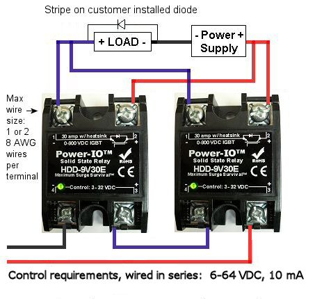 mosfet_solid_state_relay_wiring dual mosfet installation ssr relay wiring diagram at virtualis.co