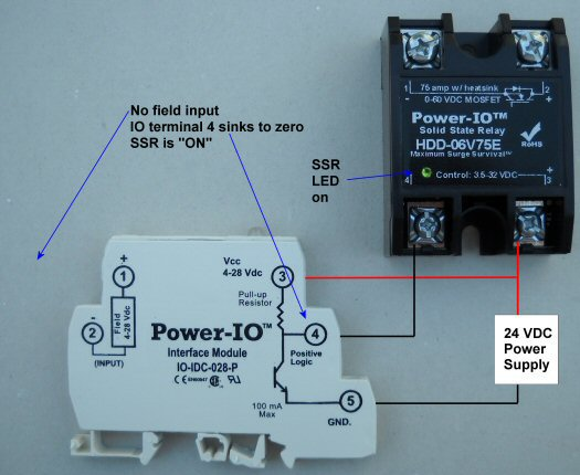 normally closed solid state relay