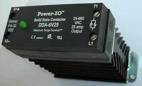 solid state contactors, DDA-6V25