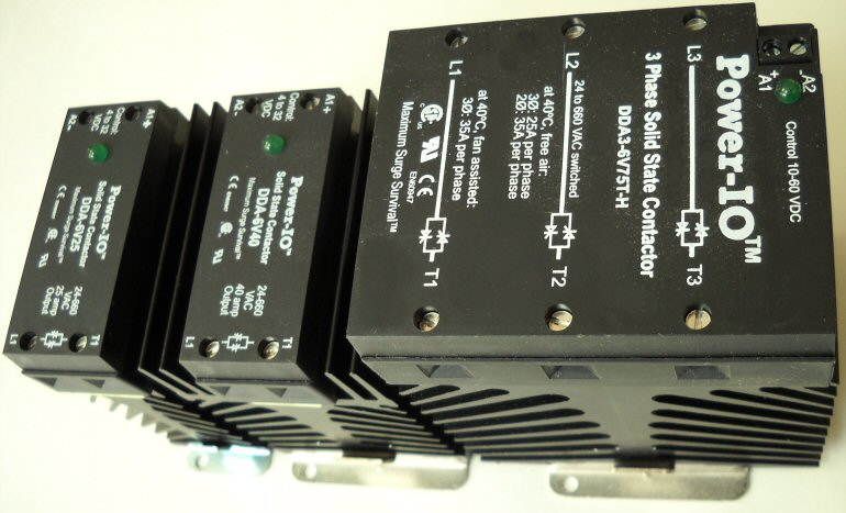 din rail solid state relays