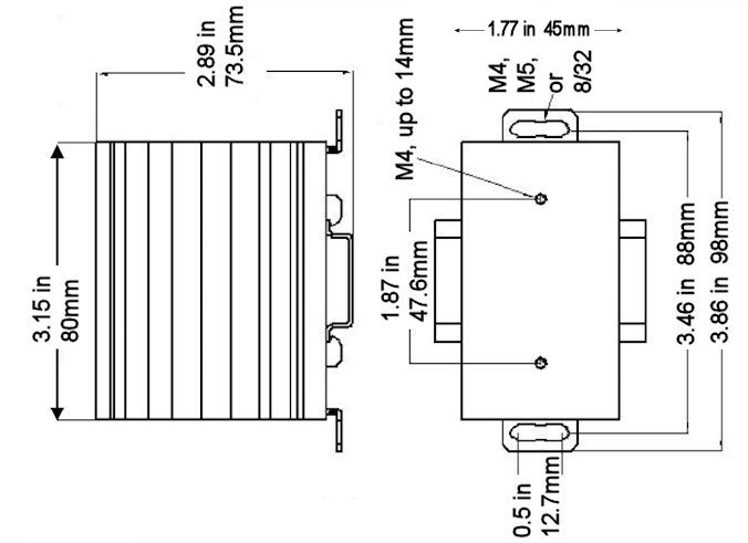 heatsink for 2.0 applications
