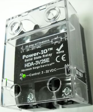 solid state relay cover