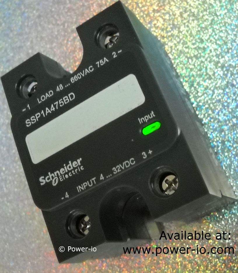 Zelio solid_state relay SSP1A by Schneider Electric